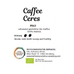 Caffee Ceres - milder...